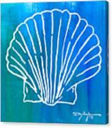 Beachside Shell Canvas Print