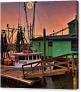 Beacon 1 Seafood Canvas Print