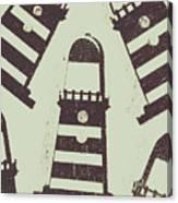 Beacon Buttons Canvas Print