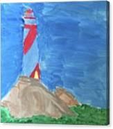 Beacon In Te Field Canvas Print