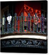 Beads In The French Quarter Canvas Print