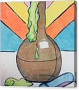 Beaker Canvas Print