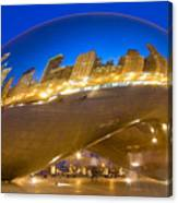 Bean Reflections Canvas Print