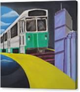 Beantown Transit Canvas Print