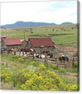 Bear Basin Ranch Canvas Print