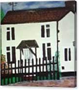 Bear Cottage Canvas Print