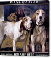 Bear Dogs Canvas Print