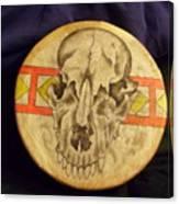 Bear Drum Canvas Print