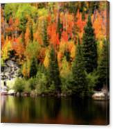 Bear Lake Autumn Canvas Print