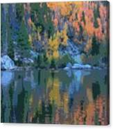 Bear Lake Colorado Poster Canvas Print