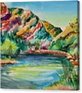 Bear Lake In Utah Canvas Print
