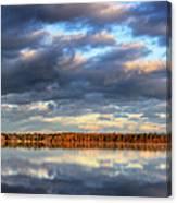Bear Lake Michigan At Sunrise Canvas Print