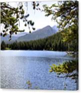 Bear Lake Rmnp Canvas Print