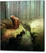 Bear Mountain Fantasy Canvas Print