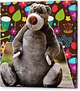 Bear Playtime Canvas Print
