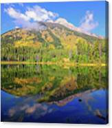 Bearpaw Morning Reflections Canvas Print