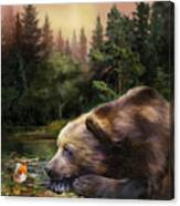 Bear's Eye View Canvas Print