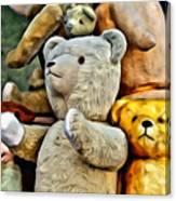 Bears For Sale Canvas Print