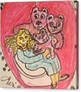 Bear's Love's Hugs Canvas Print