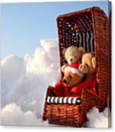 Bears Winter Holidays Canvas Print