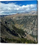 Beartooth Mountain Vista Canvas Print