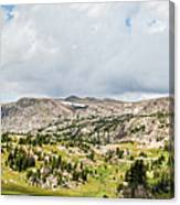 Beartooth Mountains Panorama Canvas Print