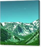 Beartooth Mountains Canvas Print