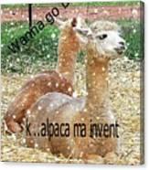 Beast Master Meme Canvas Print