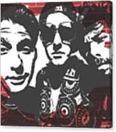 Beastie Boys Graffiti Tribute Canvas Print