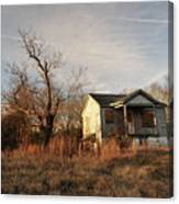 Beat Up Old House Canvas Print