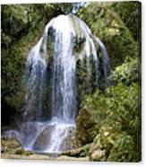 Beatifull Cuban Waterfall Canvas Print