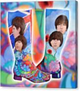 Beatle Boots Canvas Print