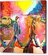 Beatles Abbey Road  Canvas Print