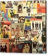Beatles Collage 1 Canvas Print