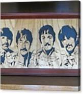 Beatles Sgt Pepper Canvas Print