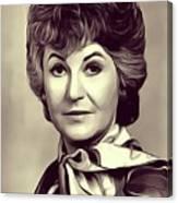Beatrice Arthur, Vintage Actress Canvas Print