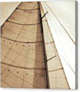 Beaufort Sails 1 Canvas Print