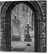 Beauly Priory Arch Canvas Print