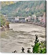 Beautiful Afternoon On The Ganges Canvas Print