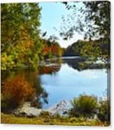 Willow Pond, Caleb Smith Preserve Canvas Print