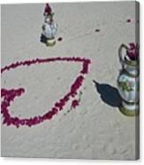 Beautiful Beach Still Life Canvas Print