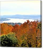 Beautiful Colors Of Autumn Landscape 2 Canvas Print