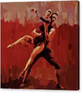 Beautiful Couple Dance 02 Canvas Print