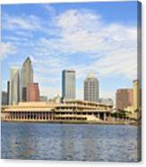 Beautiful Day Tampa Bay Canvas Print