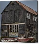 Beautiful Dereliction Canvas Print