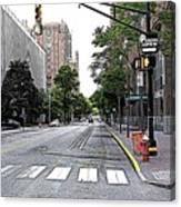 Beautiful Downtown Hoboken  Canvas Print