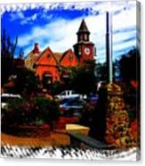 Beautiful Downtown Solvang Canvas Print
