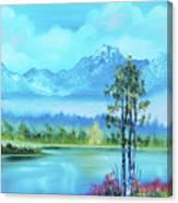 Beautiful Fall Day At The Lake Canvas Print