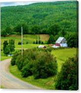 Beautiful Farm In Windsor Forks Canvas Print