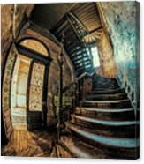 Beautiful Forgotten Staircase Canvas Print